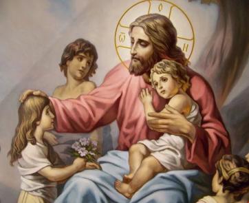 Икона на благословление детей